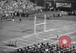Image of Army Navy football game United States USA, 1949, second 8 stock footage video 65675062404