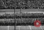 Image of Army Navy football game United States USA, 1949, second 21 stock footage video 65675062404