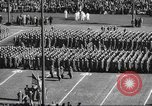 Image of Army Navy football game United States USA, 1949, second 36 stock footage video 65675062404