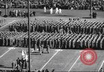 Image of Army Navy football game United States USA, 1949, second 39 stock footage video 65675062404