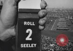 Image of Army Navy football game United States USA, 1949, second 40 stock footage video 65675062405