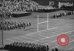 Image of Army Navy football game United States USA, 1949, second 4 stock footage video 65675062407