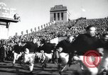 Image of Army Navy football game United States USA, 1949, second 2 stock footage video 65675062408
