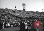 Image of Army Navy football game United States USA, 1949, second 11 stock footage video 65675062408