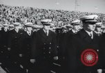 Image of Army Navy football game United States USA, 1949, second 59 stock footage video 65675062410
