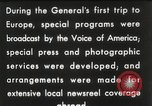 Image of General Dwight D Eisenhower Brussels Belgium, 1951, second 31 stock footage video 65675062423