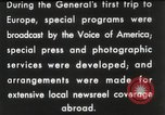 Image of General Dwight D Eisenhower Brussels Belgium, 1951, second 32 stock footage video 65675062423