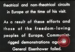 Image of General Dwight D Eisenhower Brussels Belgium, 1951, second 62 stock footage video 65675062423