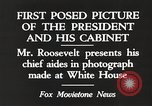 Image of Roosevelt's cabinet United States USA, 1933, second 3 stock footage video 65675062430