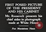 Image of Roosevelt's cabinet United States USA, 1933, second 8 stock footage video 65675062430