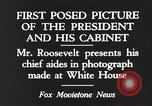 Image of Roosevelt's cabinet United States USA, 1933, second 11 stock footage video 65675062430