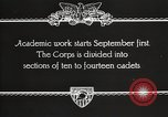 Image of United States Military Academy West Point New York USA, 1931, second 7 stock footage video 65675062455