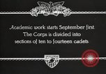 Image of United States Military Academy West Point New York USA, 1931, second 9 stock footage video 65675062455