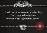 Image of United States Military Academy West Point New York USA, 1931, second 10 stock footage video 65675062455