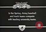 Image of West Point cadets West Point New York USA, 1931, second 3 stock footage video 65675062470