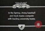 Image of West Point cadets West Point New York USA, 1931, second 4 stock footage video 65675062470