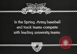 Image of West Point cadets West Point New York USA, 1931, second 5 stock footage video 65675062470