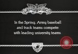 Image of West Point cadets West Point New York USA, 1931, second 7 stock footage video 65675062470