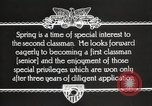 Image of West Point cadets Virginia United States USA, 1931, second 4 stock footage video 65675062471