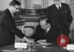Image of British and French officials Europe, 1962, second 26 stock footage video 65675062504