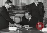 Image of British and French officials Europe, 1962, second 27 stock footage video 65675062504