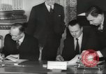 Image of British and French officials Europe, 1962, second 28 stock footage video 65675062504