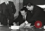 Image of British and French officials Europe, 1962, second 30 stock footage video 65675062504