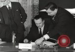 Image of British and French officials Europe, 1962, second 32 stock footage video 65675062504