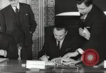 Image of British and French officials Europe, 1962, second 34 stock footage video 65675062504