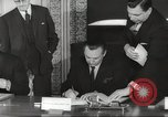 Image of British and French officials Europe, 1962, second 35 stock footage video 65675062504