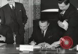 Image of British and French officials Europe, 1962, second 36 stock footage video 65675062504