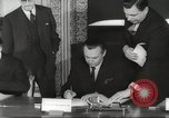 Image of British and French officials Europe, 1962, second 37 stock footage video 65675062504