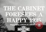 Image of Roosevelt's cabinet United States USA, 1935, second 3 stock footage video 65675062507