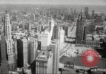 Image of Chicago skyline and O'Leary home Chicago Illinois USA, 1955, second 21 stock footage video 65675062509