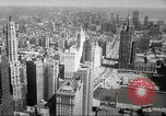 Image of Chicago skyline and O'Leary home Chicago Illinois USA, 1955, second 22 stock footage video 65675062509