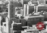 Image of Chicago skyline and O'Leary home Chicago Illinois USA, 1955, second 24 stock footage video 65675062509