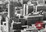 Image of Chicago skyline and O'Leary home Chicago Illinois USA, 1955, second 25 stock footage video 65675062509