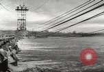 Image of Volga Hydroelectric Project Russia, 1955, second 40 stock footage video 65675062510