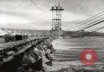 Image of Volga Hydroelectric Project Russia, 1955, second 42 stock footage video 65675062510
