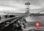 Image of Volga Hydroelectric Project Russia, 1955, second 43 stock footage video 65675062510