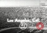 Image of football match Los Angeles California USA, 1955, second 1 stock footage video 65675062514