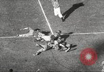 Image of football match Los Angeles California USA, 1955, second 12 stock footage video 65675062514