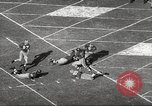 Image of football match Los Angeles California USA, 1955, second 20 stock footage video 65675062514
