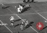 Image of football match Los Angeles California USA, 1955, second 30 stock footage video 65675062514
