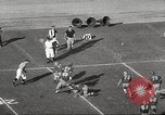 Image of football match Los Angeles California USA, 1955, second 31 stock footage video 65675062514
