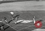 Image of football match Los Angeles California USA, 1955, second 35 stock footage video 65675062514