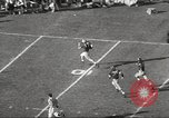 Image of football match Los Angeles California USA, 1955, second 49 stock footage video 65675062514