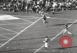 Image of football match Los Angeles California USA, 1955, second 50 stock footage video 65675062514