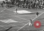 Image of football match Los Angeles California USA, 1955, second 51 stock footage video 65675062514
