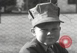 Image of Children ride on train pulled by small locomotive Waltham Massachusetts USA, 1932, second 15 stock footage video 65675062519